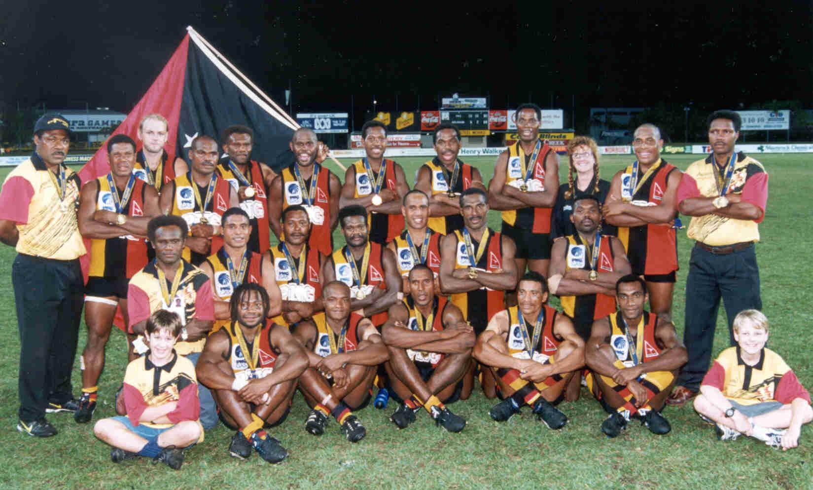 Arafura Games PNG AFL