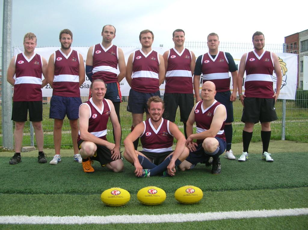 Latvia AFL footy
