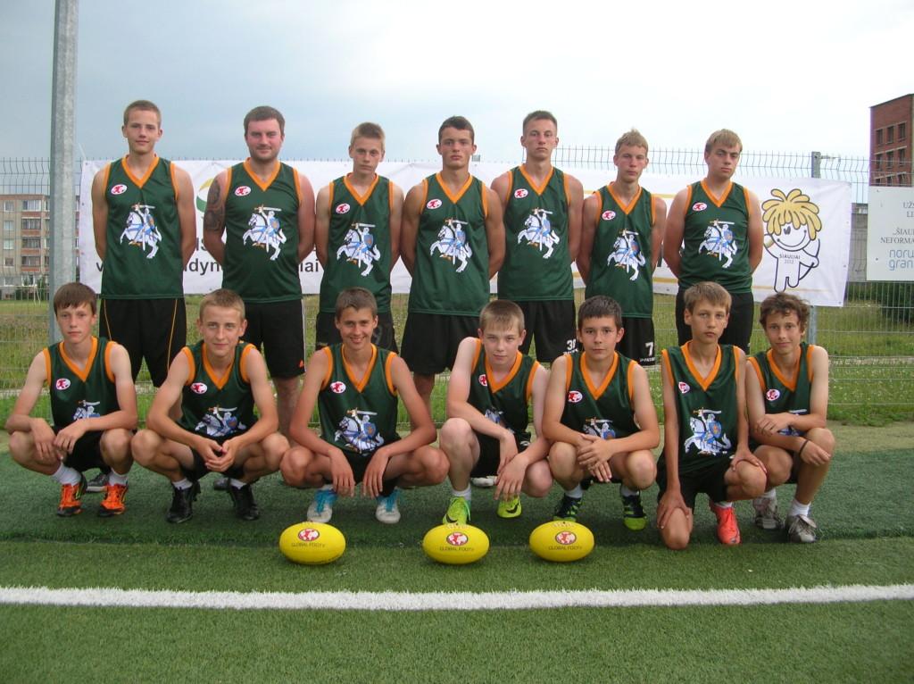 Lithuania AFL Team