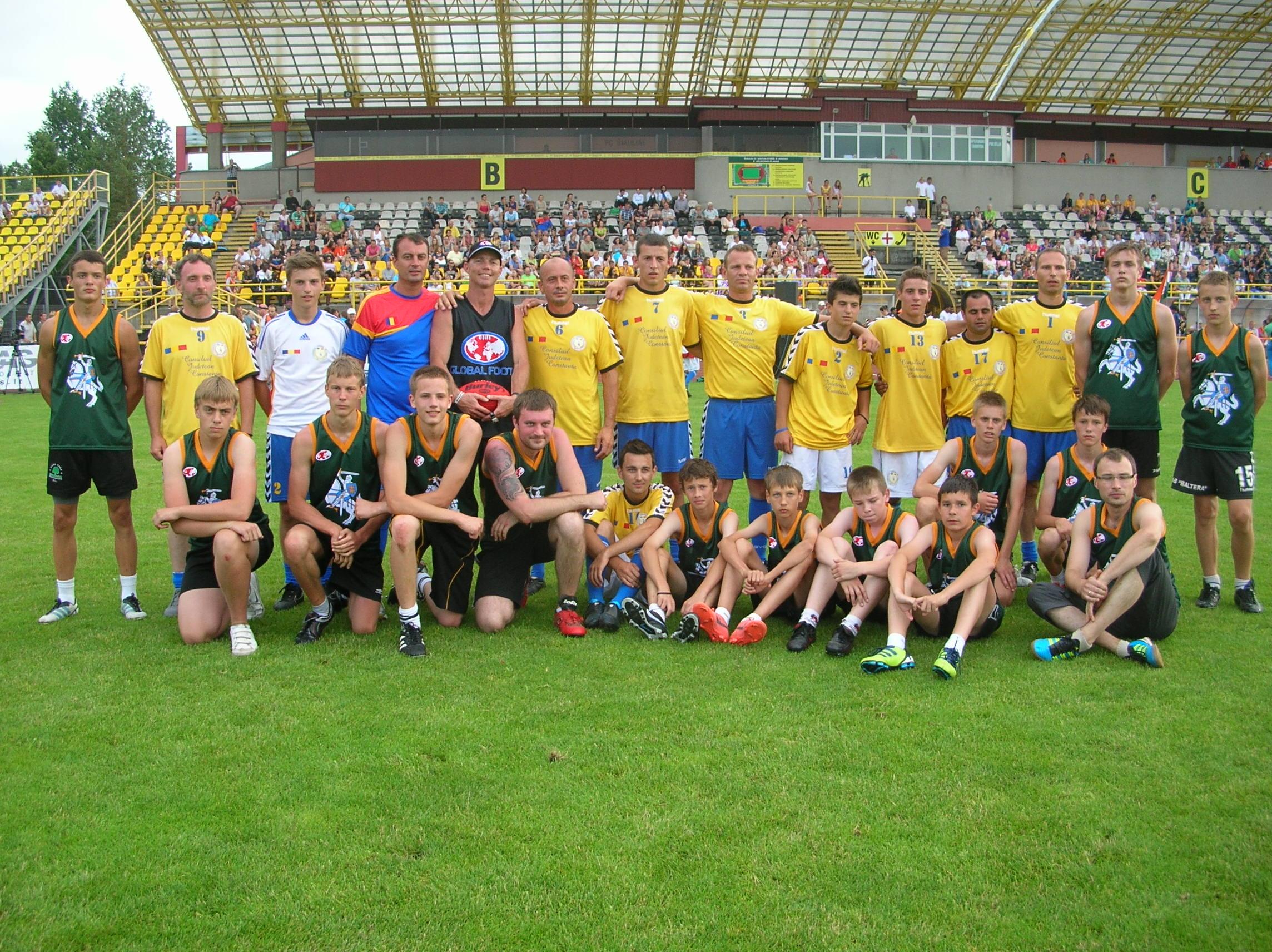 Romania AFL footy
