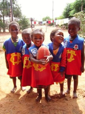 Kicking Goals in Africa