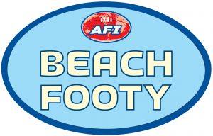 AFI Beach Footy logo