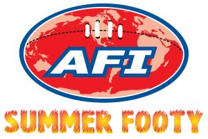 AFI Summer Footy logo