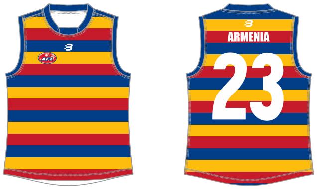 Armenia AFL footy jumper