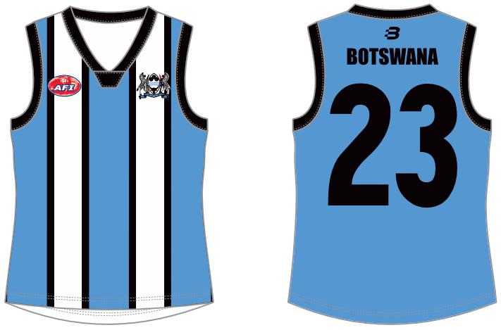 Botswana AFL footy jumper