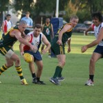 Convicts v Santiago Saints AFL