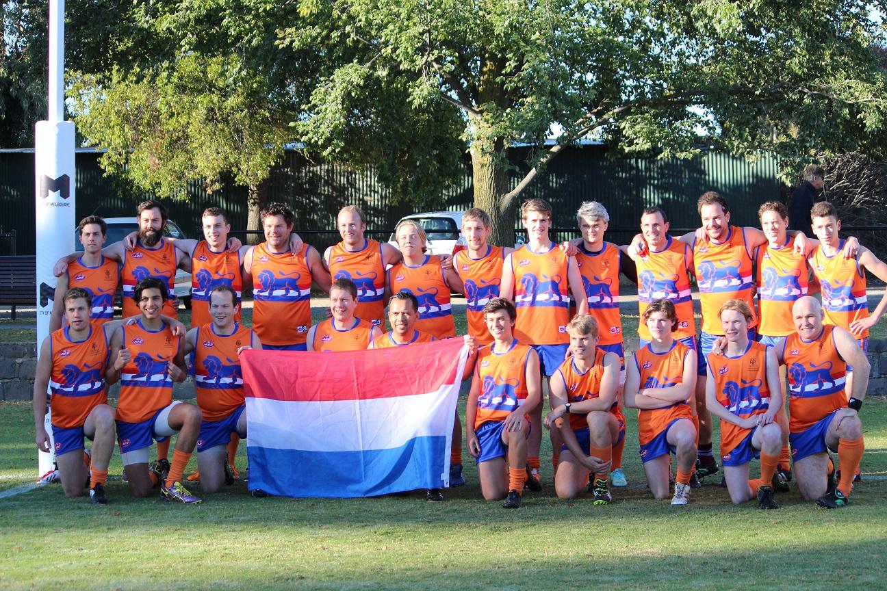 Dutch Lions AFL footy