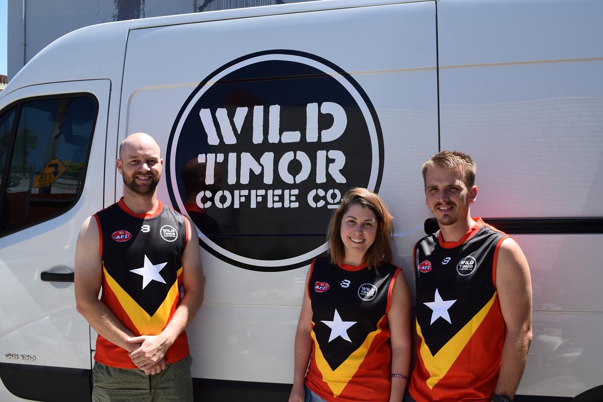East Timor AFL footy
