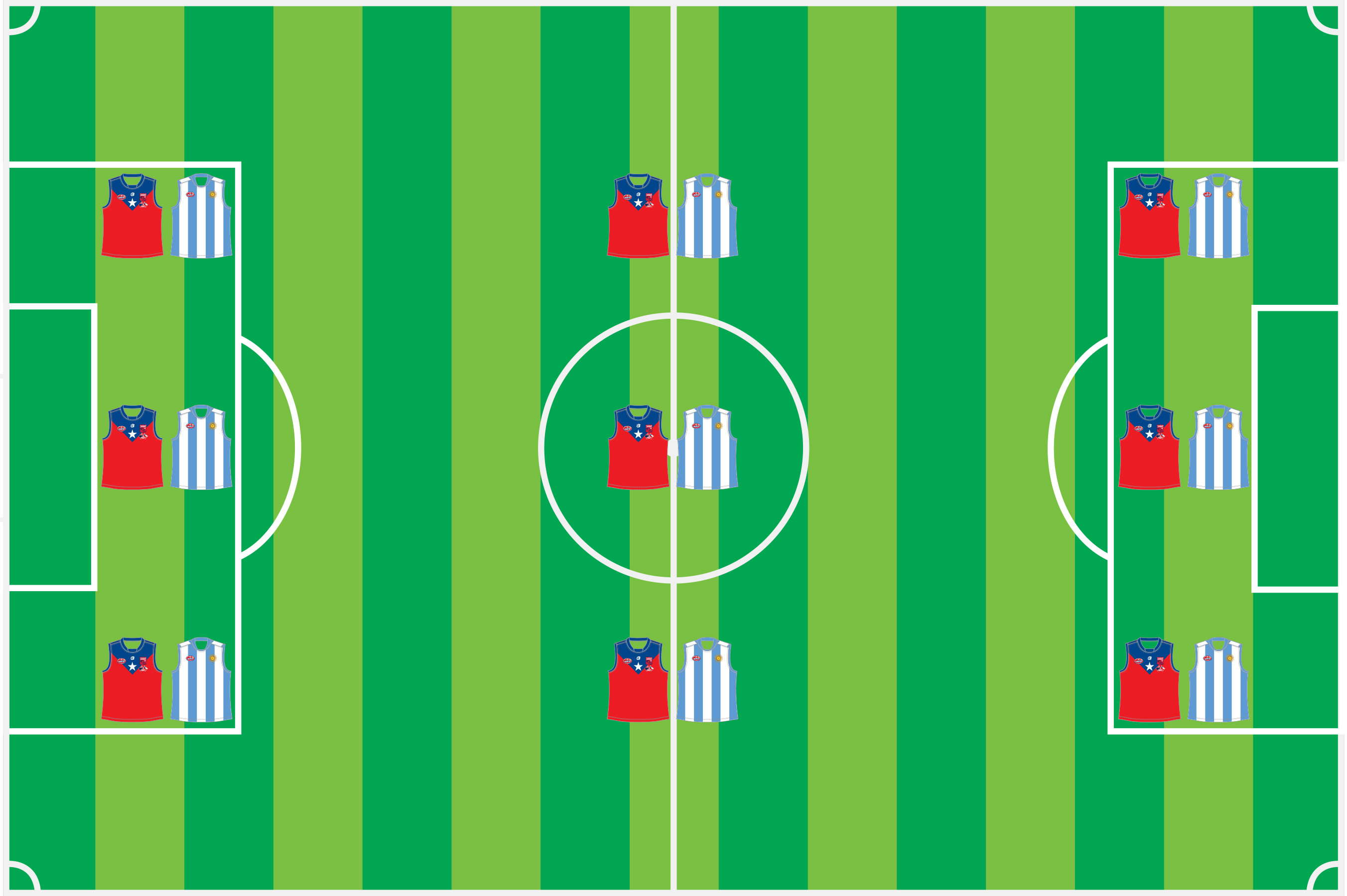soccer field footy 9s
