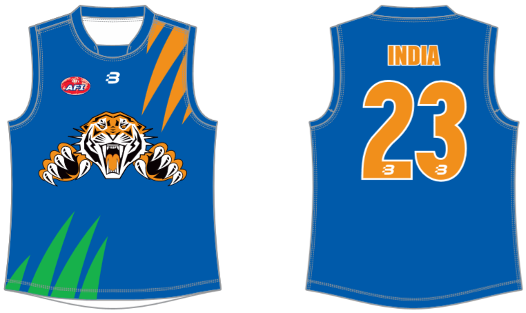 India Tigers AFL footy