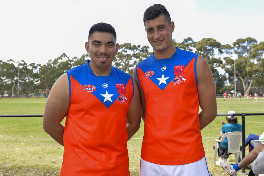 Americas footy jumpers AFL