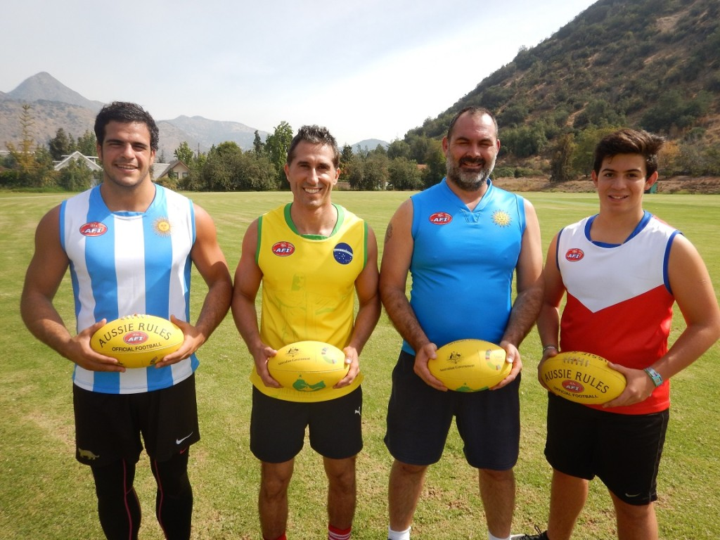 Latin America AFL jumpers