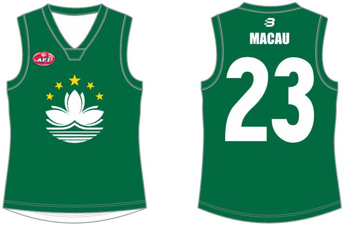 Macau AFL footy jumper