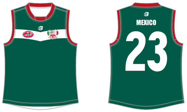 Mexico Eagles AFL footy