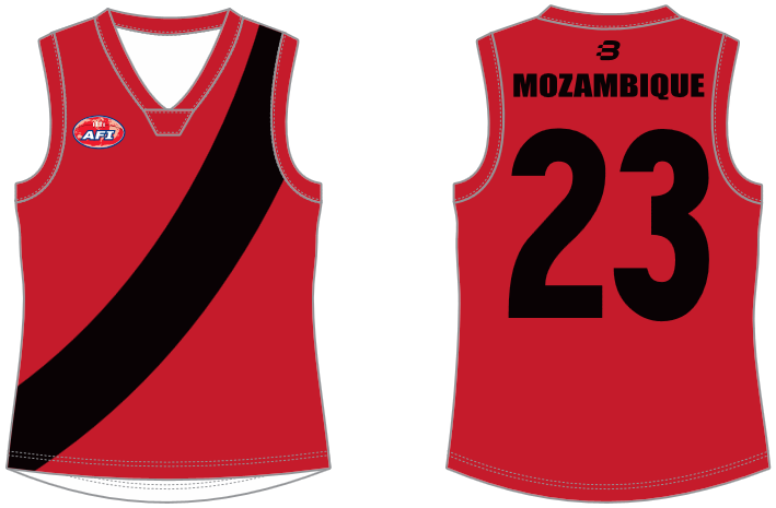 Mozambique AFL footy jumper