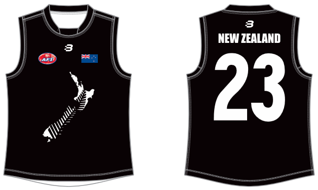 NZ AFL full jumper