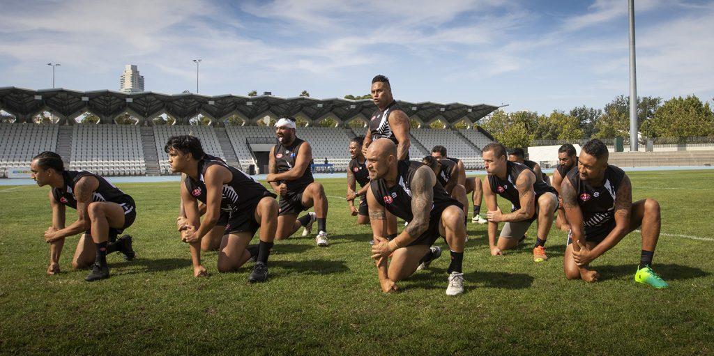 NZ haka AFI World 9s