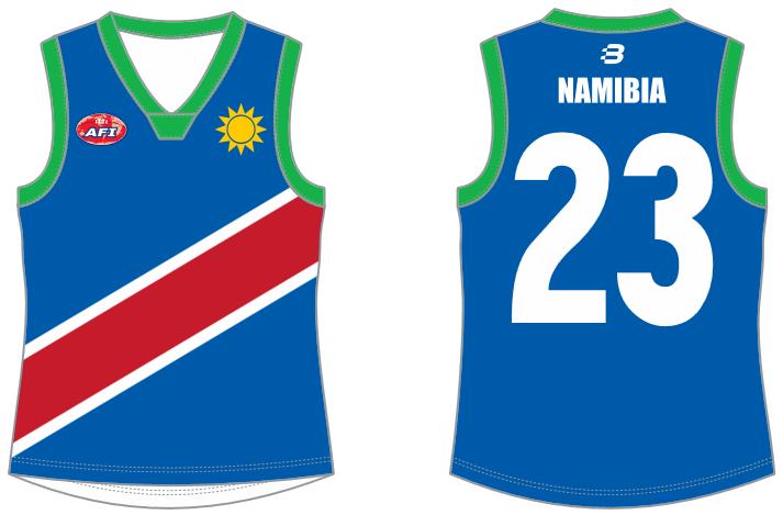 Namibia AFL footy jumper