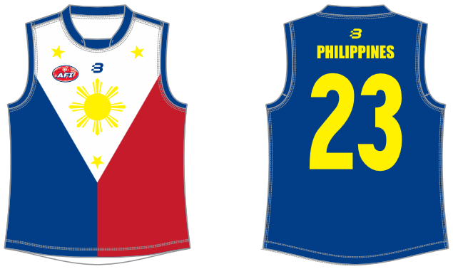 Philippines AFL footy jumper
