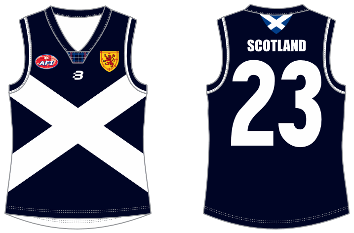 Scotland footy jumper AFL