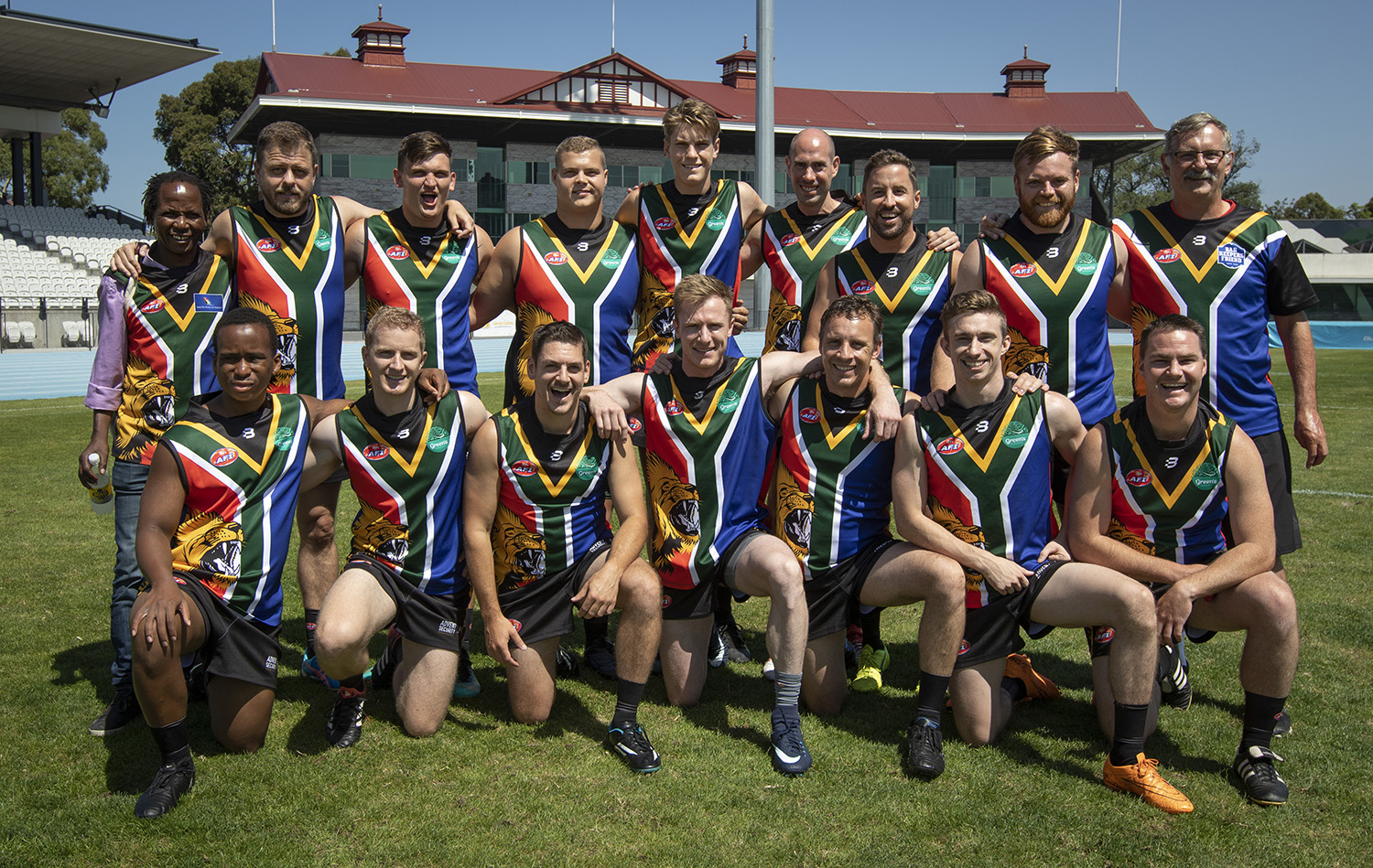 South Africa AFL footy