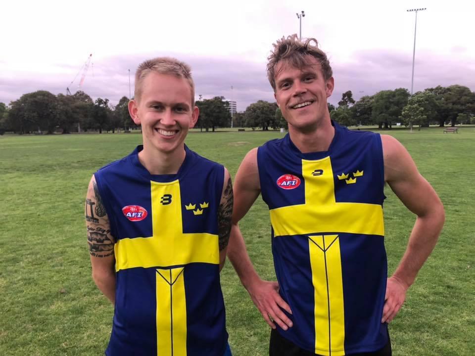 Sweden AFL footy