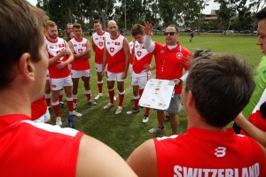 Switzerland players AFL
