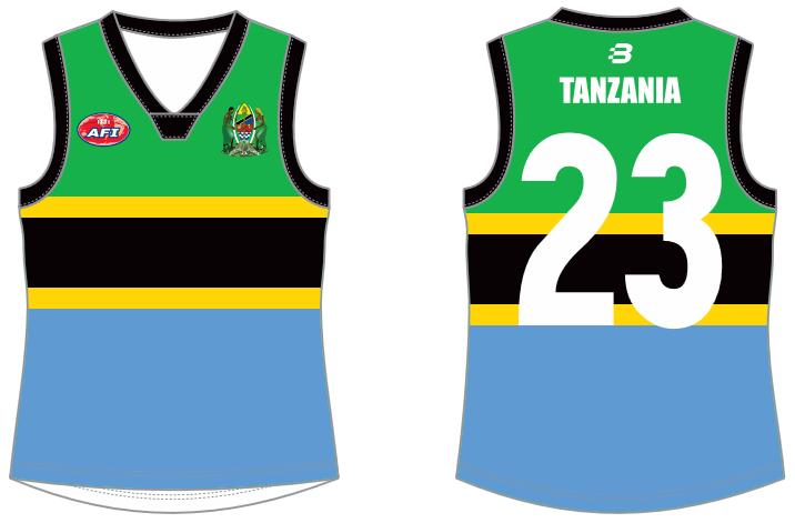 Tanzania AFL full jumper