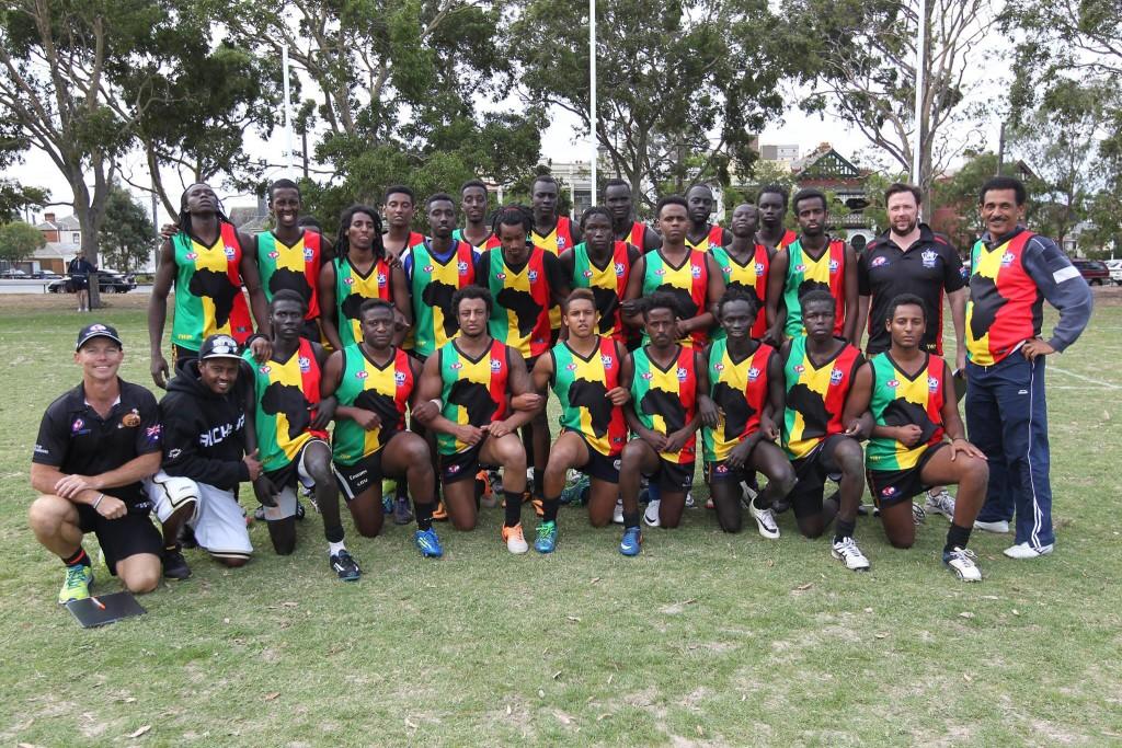 AFI Team Africa footy