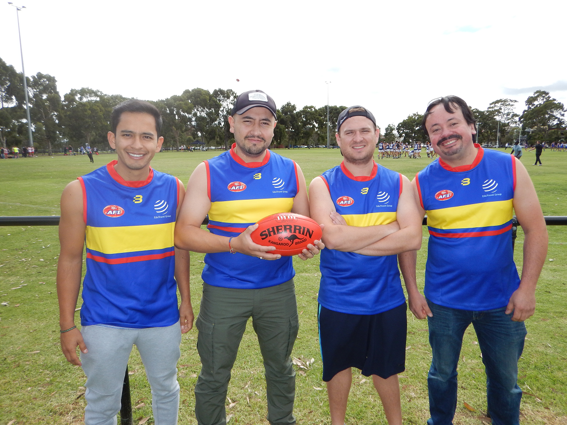 Colombia AFL footy