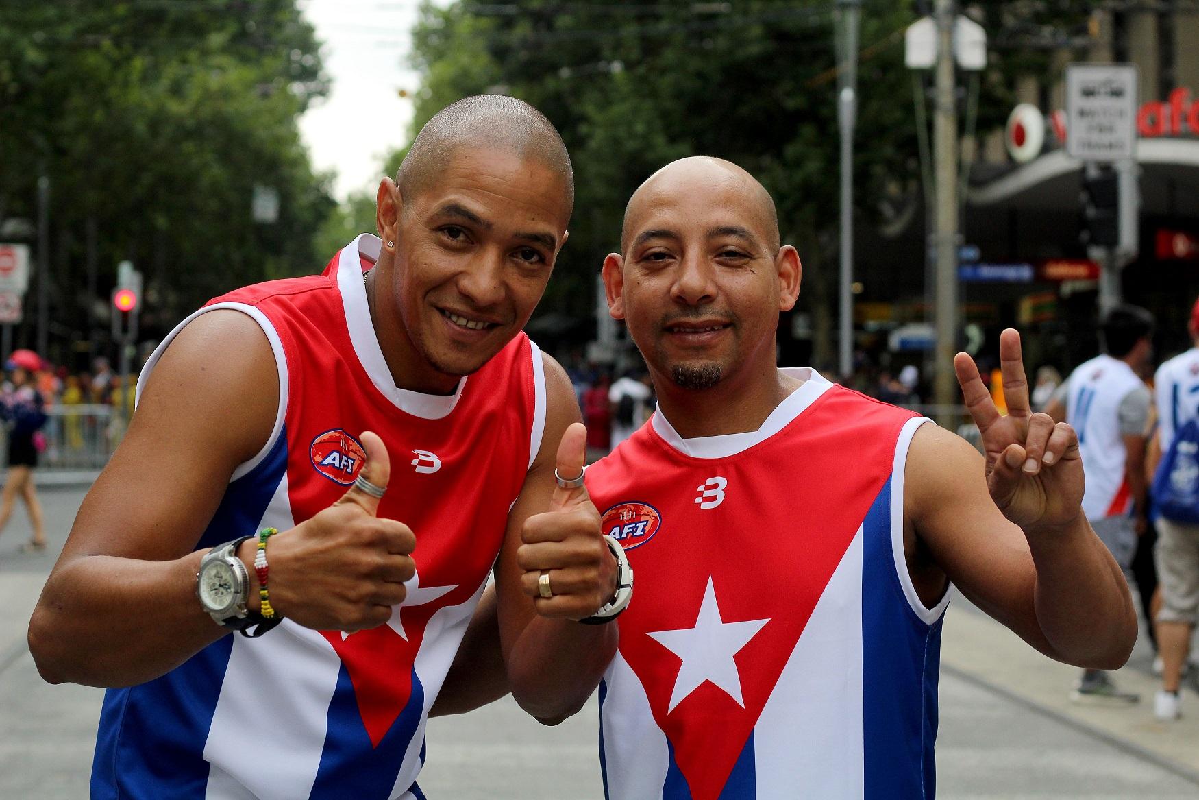 AFI Cuba AFL footy
