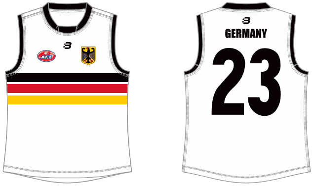 Team Germany AFL footy