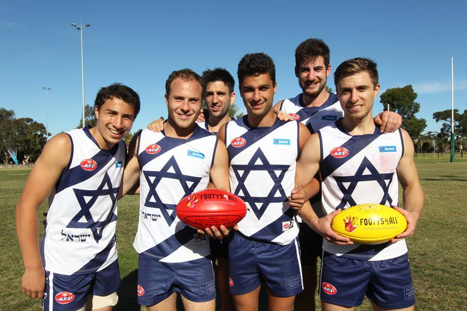 Israel AFL footy
