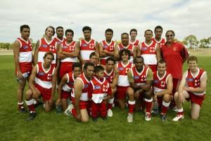 Tonga players AFL