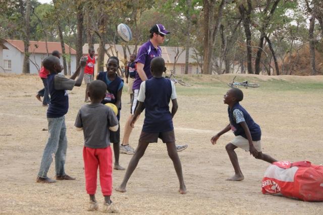 Zambia AFL footy