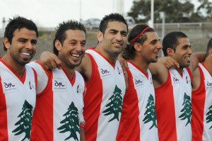 Team Lebanon AFL footy