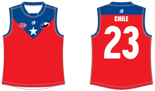 Chile Condors AFL footy