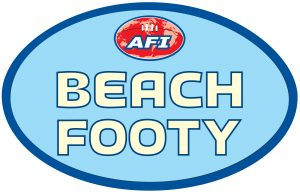 AFI Beach Footy logo