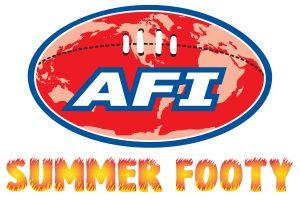 AFI Summer Footy logo