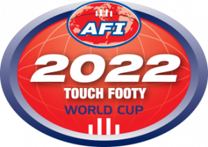 AFI Touch Footy World Cup logo