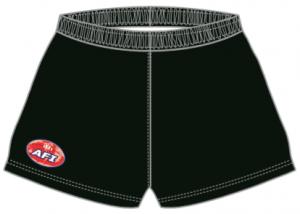 Black shorts front