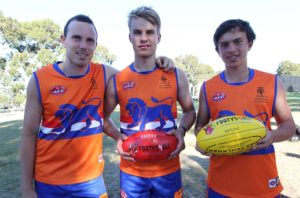 Dutch Lions AFL players