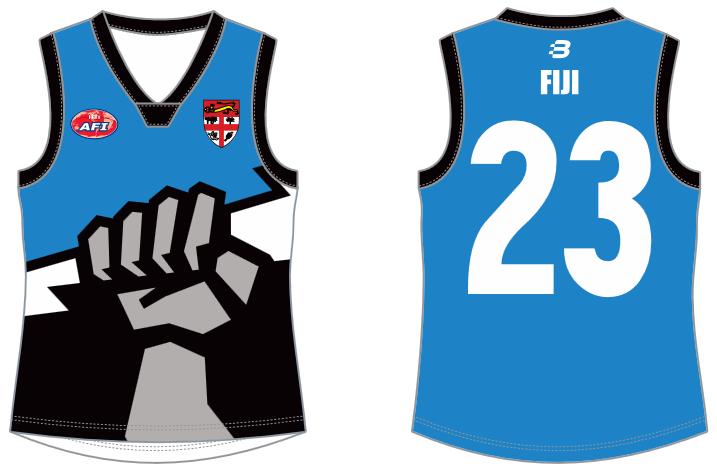 Fiji footy jumper AFL