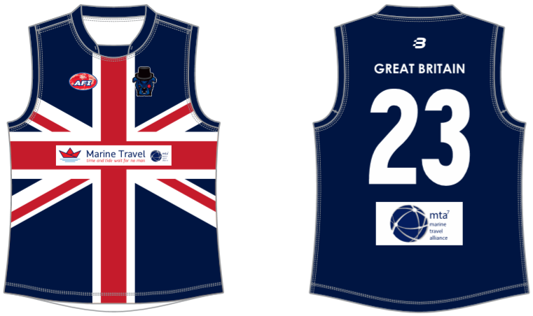 Great Britain Bulldogs footy