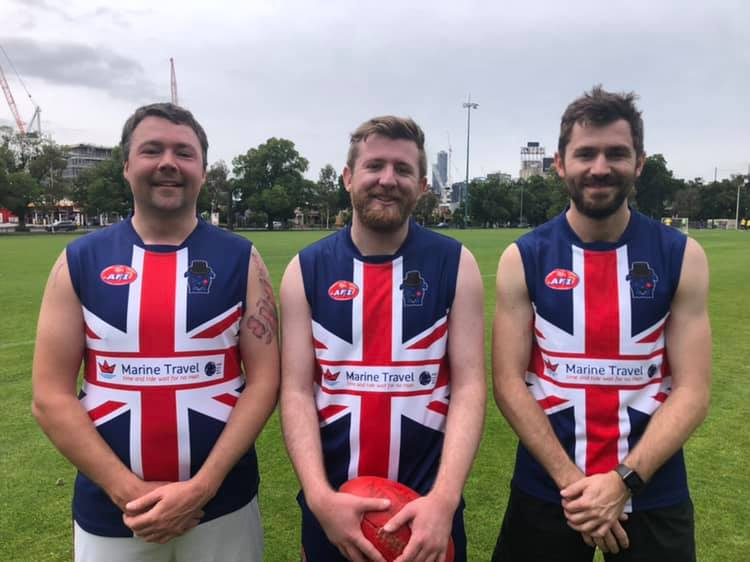 British Bulldogs AFL footy