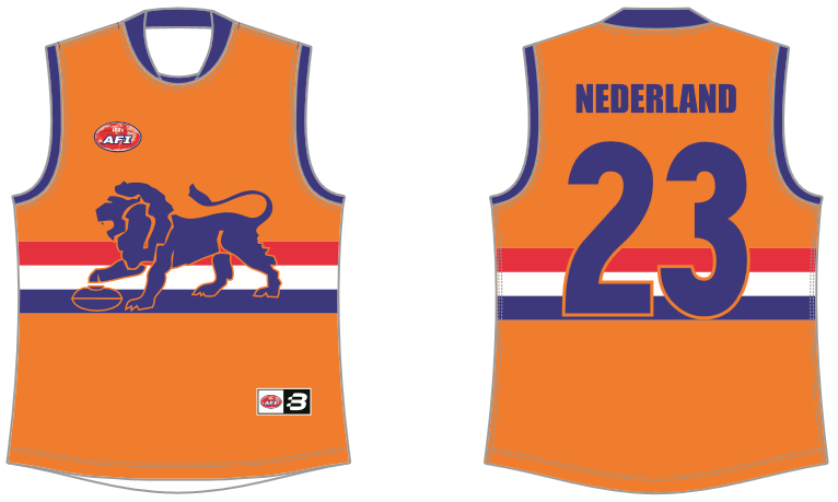 Dutch Lions AFL footy