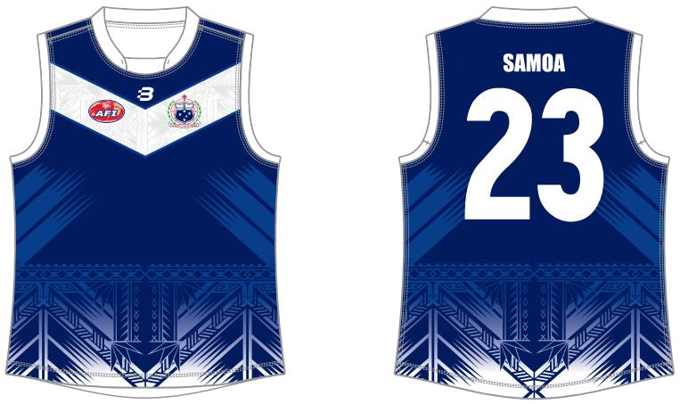 Samoa AFL footy jumper