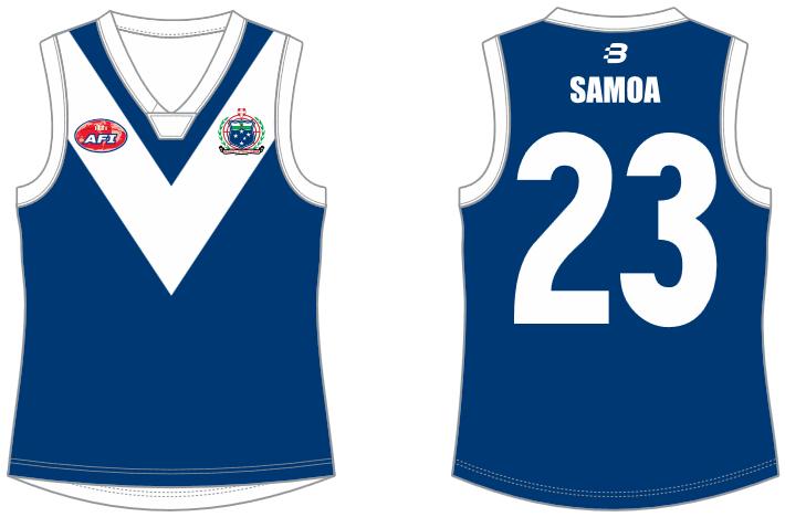 Samoa footy jumper AFL