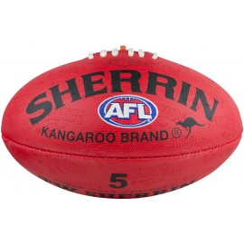 Sherrin Red Size 5