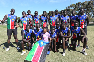 AFI South Sudan footy
